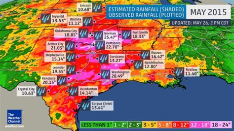 texas rainfall totals map flooding rains in texas courtesy of an mcs foreflight