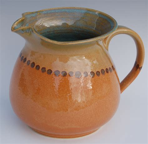 Handcrafted Pottery - pitcher handmade pottery