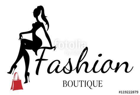free logo design for boutique quot fashion boutique logo with black and white woman