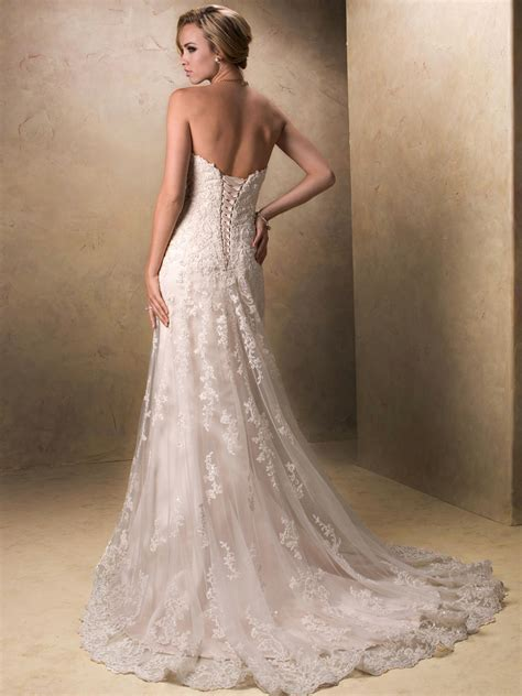 Maggie Sottero Wedding Dresses by Maggie Sottero Size 10 Wedding Dress Oncewed