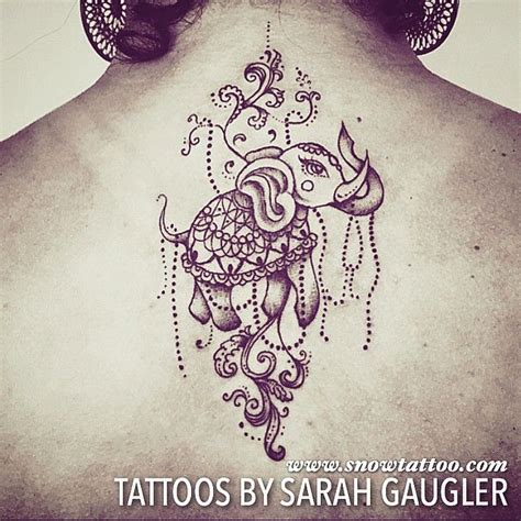 elephant tattoo with jewelry 17 best images about tattoos by sarah gaugler on pinterest
