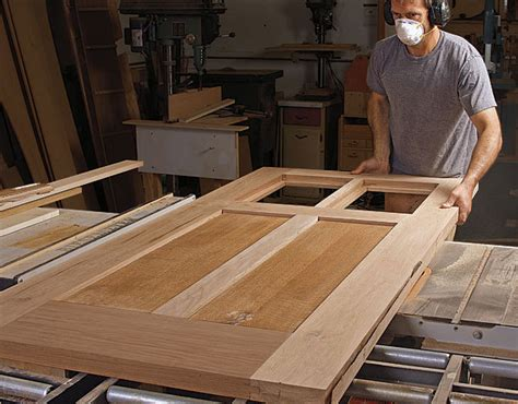 Build Front Door How To Build Your Own Front Door Finewoodworking