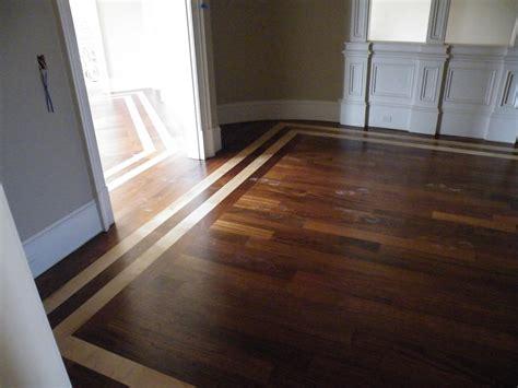 Wood Flooring And Inlays Wood Flooring With Tile Inlays Studio Design Gallery