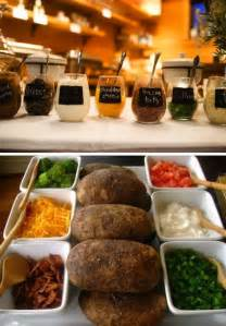 best 25 baked potato bar ideas on