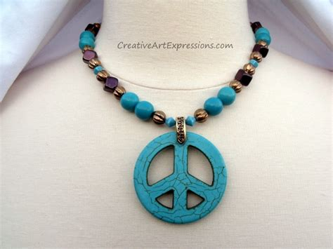 Handmade Necklaces Designs - creative expressions handmade turquoise necklace