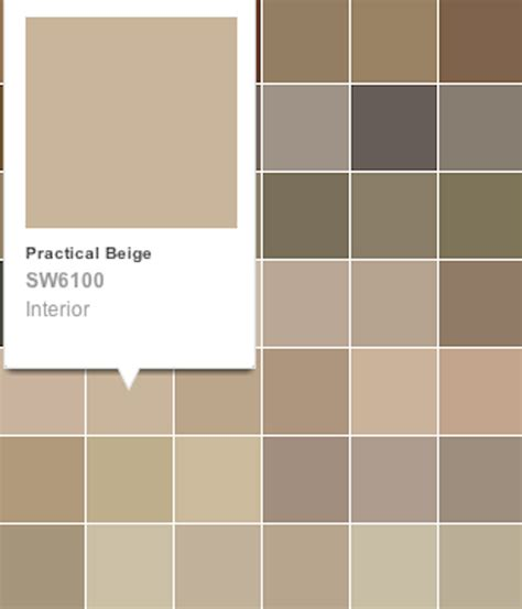 sherwin williams beige paint color chart 2017 2018 best cars reviews