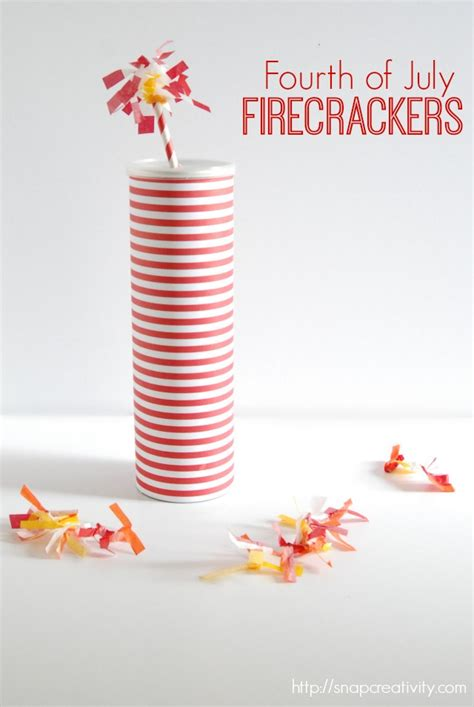How To Make A Paper Firecracker - fourth of july paper firecrackers tauni co