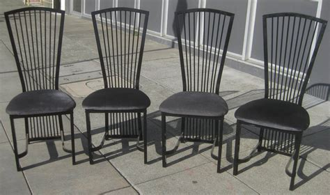 Metal Kitchen Chair uhuru furniture collectibles sold 4 metal kitchen chairs 65