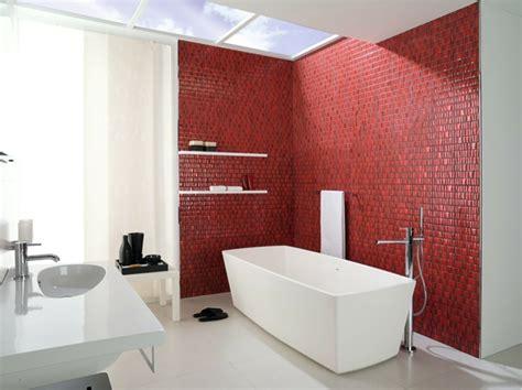 badezimmer fliesen rot grau wandfliesen bad machen es zu einem einladenden ort