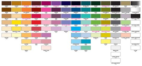 tattoo ink color chart color chart printable pictures to pin on pinterest