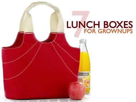To Market Recap Lunchbox by Koko Kate Lunch Bag Ecouterre