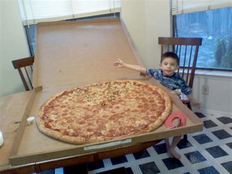 big pizza photo of the day big pizza kid serious eats