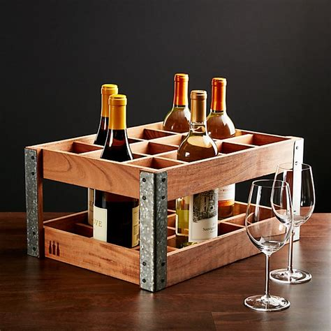 case wine rack reviews crate  barrel