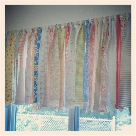 quilt pattern valance how to make a shabby chic window valance in minutes