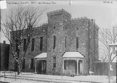 San Angelo Records San Angelo And It S Jailer Permian Historical