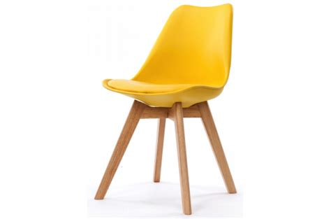 Chaise Style Scandinave by Chaise Design Style Scandinave Jaune Sweden Design Sur