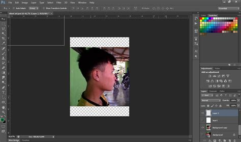 tutorial gambar siluet membuat gambar siluet pas mantab dengan photoshop alanimator