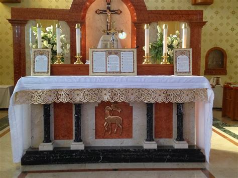 alter table modify the radical catholic the altar and its furnishings