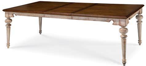 Antique Extendable Dining Table Belmar Antique Linen Rectangular Extendable Dining Table From 189220 2617 Coleman Furniture