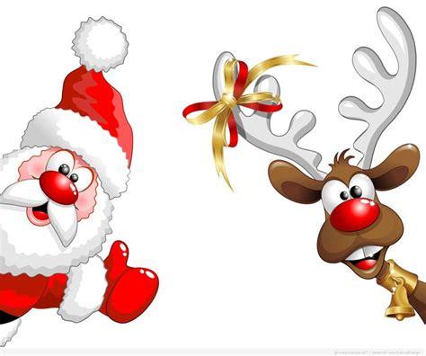 clipart natale free how got it from http wallchips santa claus deer