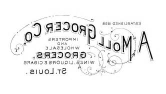 printable iron on transfer vintage grocery sign the