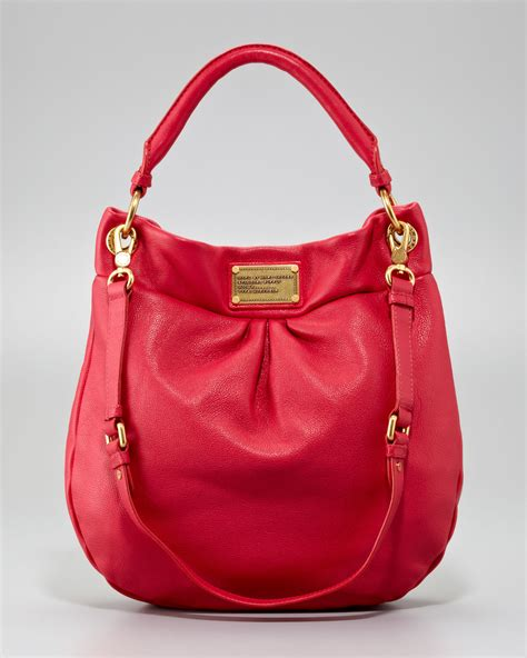 Marc Jacob Bag 1590 marc by marc classic q hillier hobo bag rock
