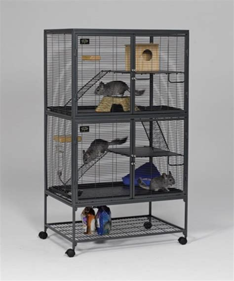 Cage Confirmed As Liberace Favorite by Critter Nation Rat Chinchilla Hedgehog Small Pet