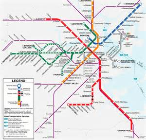 Mbta Green Line Map by Gerrit And Kelly