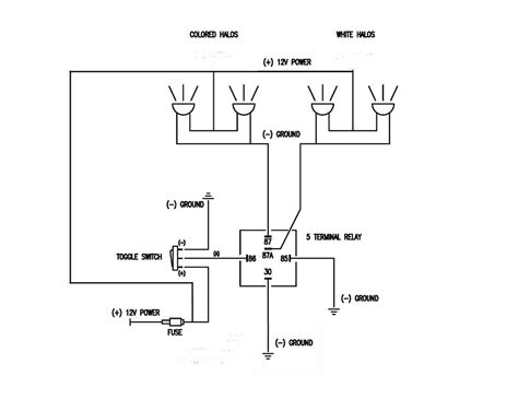 5 post relay wiring diagram bosch 12v relay wiring diagram mifinder co