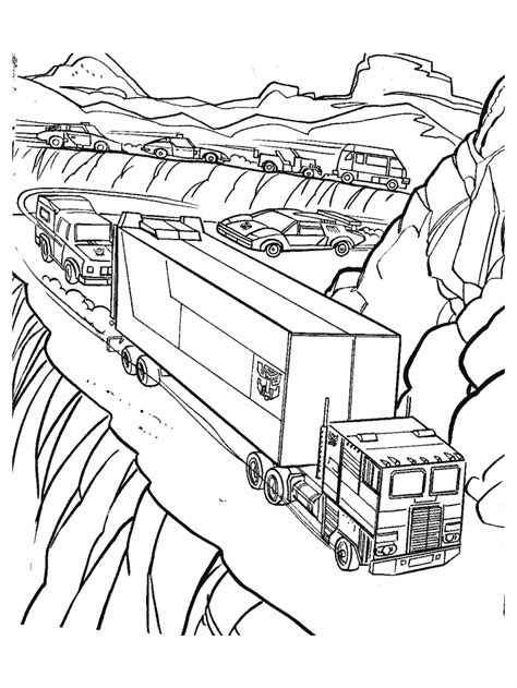 Transformers Crosshairs Coloring Page | transformers crosshairs colouring pages