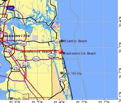 zip code map jacksonville beach fl jacksonville beach zip code map zip code map