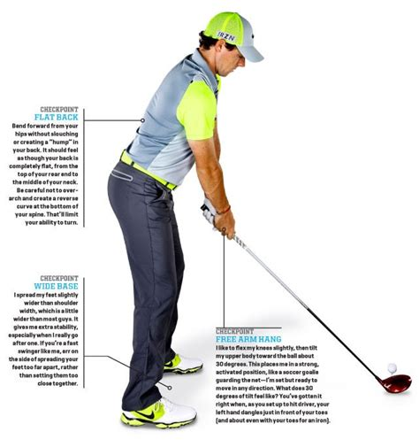 golf swing setup posture rory s swing and my somewhat correct analysis thereof