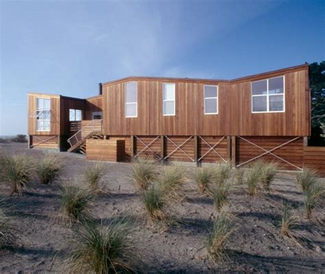 wooden beach house designs beach house design in wood on california coast