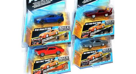 155 Fast Furious Set fast furious build n collect set brian s toyota