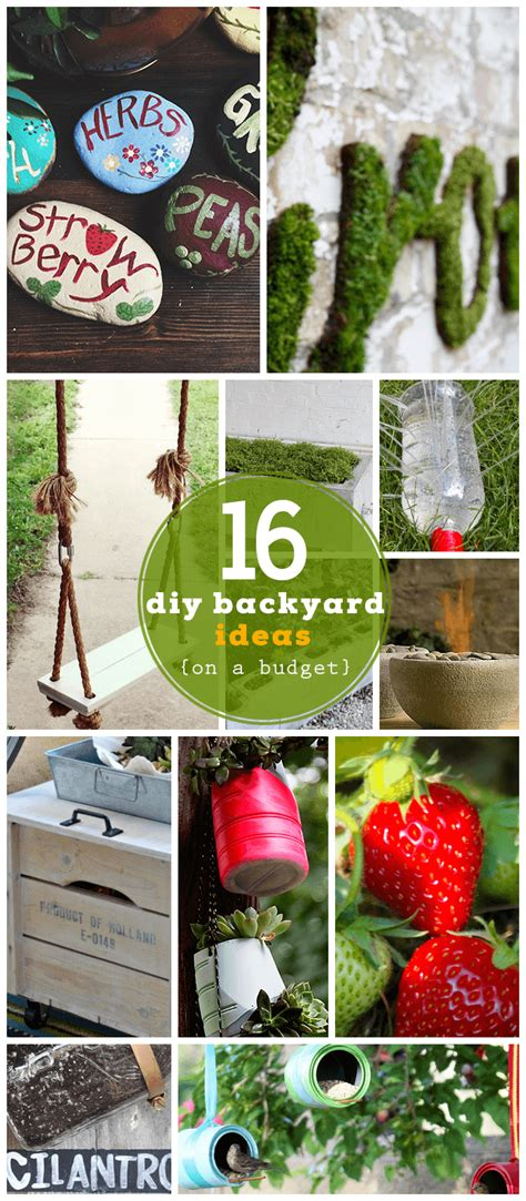 backyard ideas for kids on a budget 16 diy backyard ideas on a budget