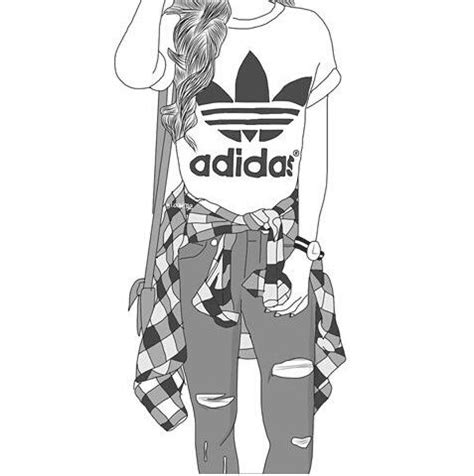 adidas clipart tumblr adidas pencil and in color adidas