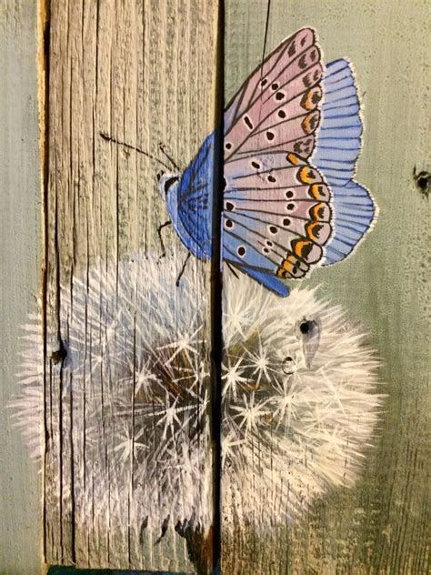 Kalung B296 Simple Rustic Butterfly Doerksen Of A Country Barn Wood