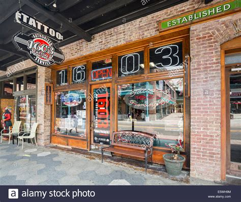 tattoo shops ybor ta stock photos ta stock images alamy