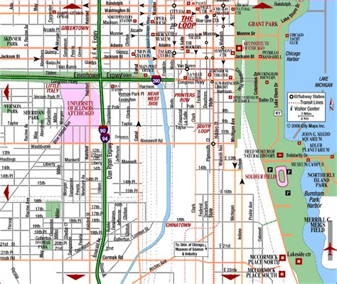 printable street map chicago map of downtown chicago online world map dictionary
