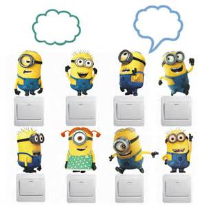 Minion Wall Stickers Aliexpress Com Buy Despicable Me 2 Minion Movie Wall