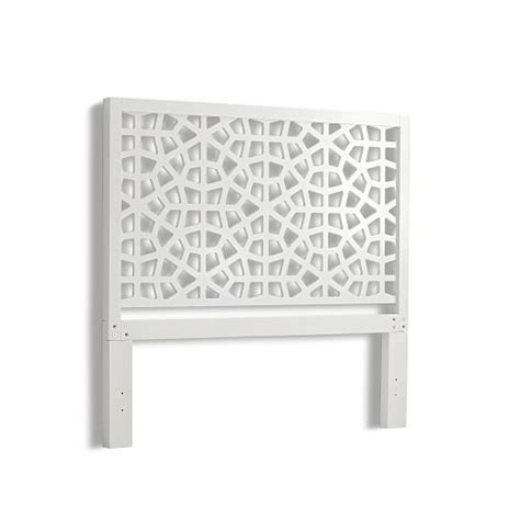 morocco headboard west elm morocco bed white west elm