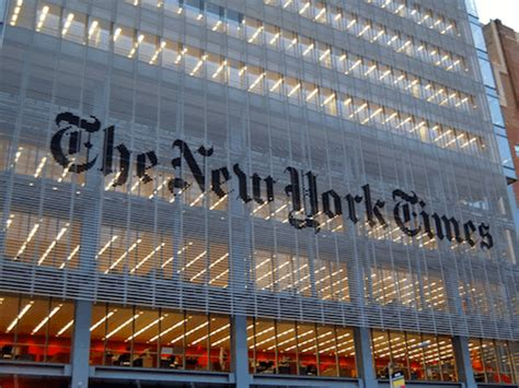 New York Times Office by The Times Goes Nothing On Immigration Breitbart