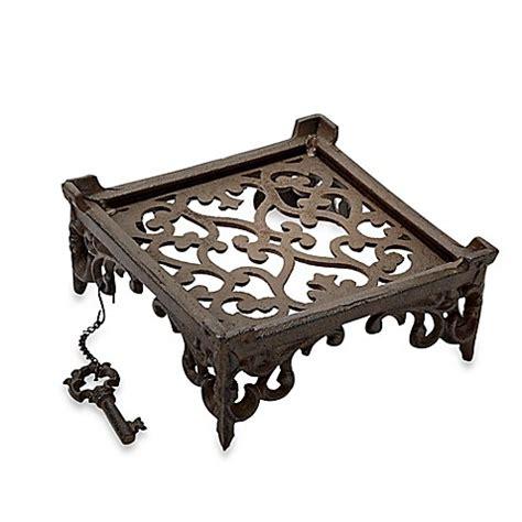bed bath beyond iron home essentials beyond cast iron napkin holder bed