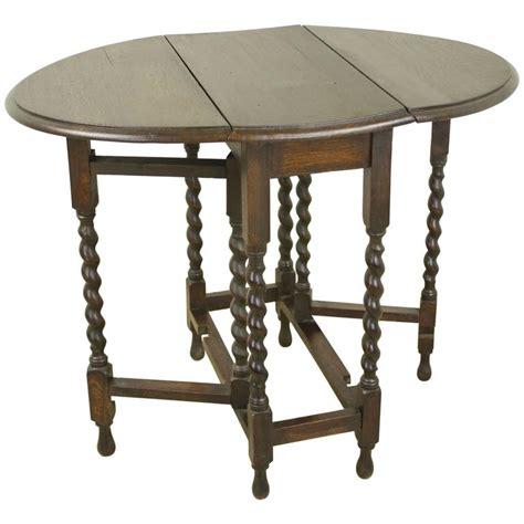 barley twist table legs for sale small barley twist gate leg drop leaf table for sale at