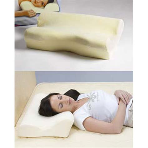 Sleep Innovations Cool Contour Pillow by High Density Sleep Innovations Contour Memory Foam Pillow