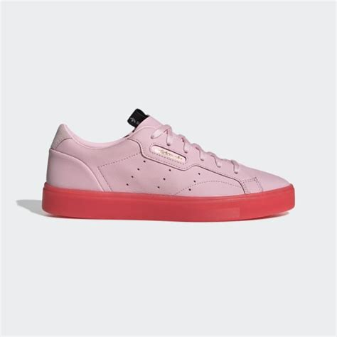 adidas sleek shoes pink adidas us