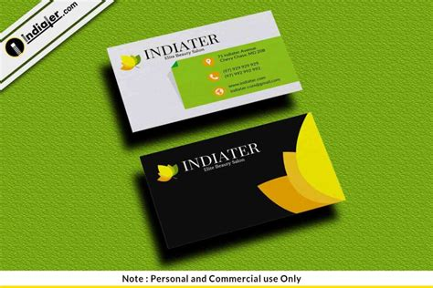 Salon Business Card Templates Psd by Free Hair Stylist Salon Business Card Psd Template Indiater