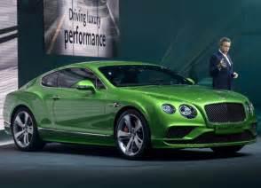 Bentley Cars Usa 2016 Bentley Continental Gt Ii Speed Pictures