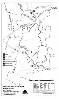 Pocahontas State Park Map by Pocahontas State Park Maplets