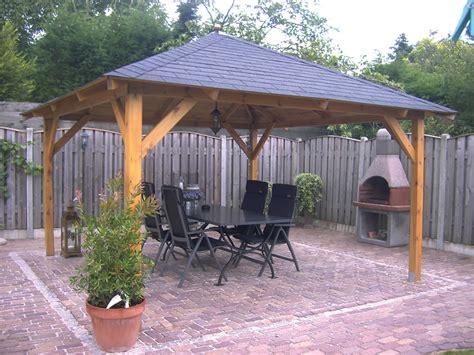 gazebo 5x5 extremo large wooden gazebo 5 5x5 5m